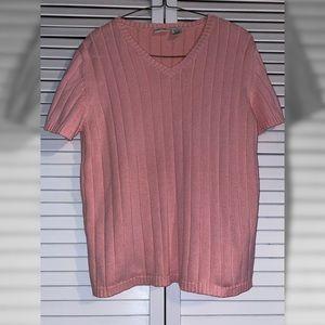 🍁 light pink sweater blouse 🍁